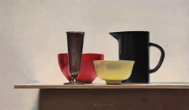 Still Life with Black Jug