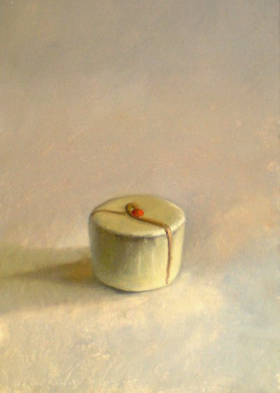 Still life with white chocolate
