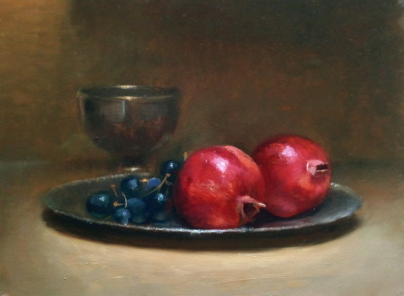 Still life with chalice