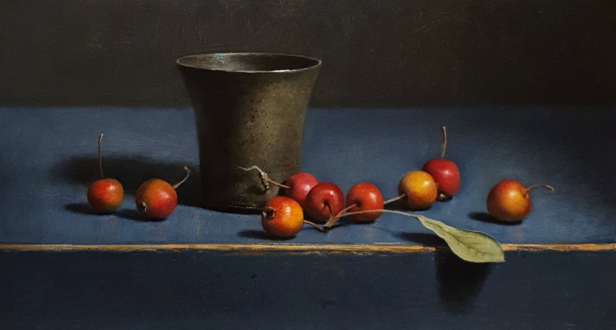 Still life with crabapples