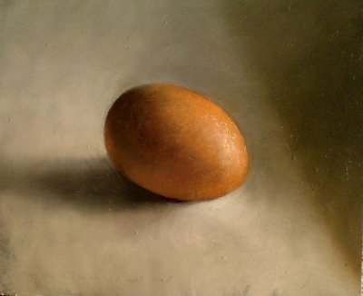 Still life egg and shadow