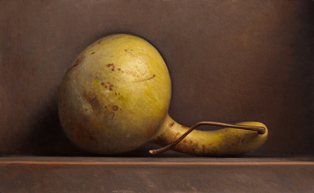 Still life with gourd