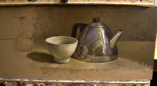 Still life with teapot Part II