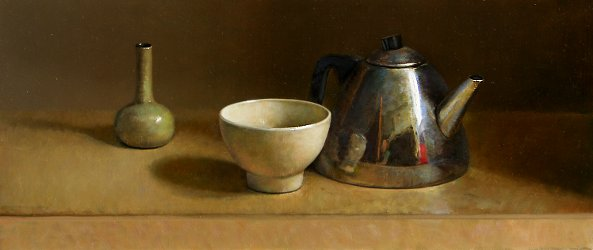 Still life with teapot Part III